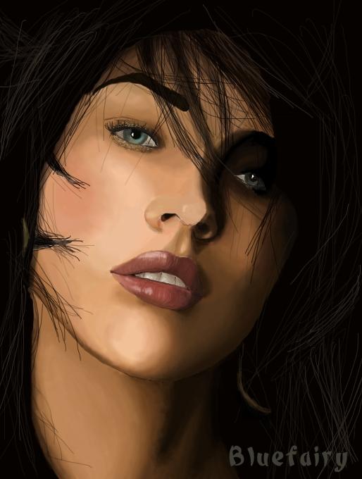 Megan Fox by Bluefairy